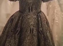 فستان بحاله ممتازه للبيع .جدا فخم