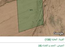 للبيع ارض 10 دونم في الموقر الحمد و القضاه