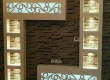 نجار شامل للديكورات الخشبية و الأثاث المنزلى.98745705