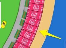 أرض للبيع في صباح الاحمد البحرية بالمرحلة الرابعة B