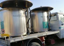 افيكو أوروبيا جمرك مجهزه لنقل حليب الأبقار مبردات