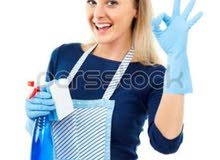 يوجد لدينا أفضل عاملات نظافة للمنازل ومكاتب يومي أسبوعي شهري