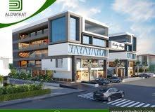 مجمع تجاري للبيع في مرج الحمام مساحة البناء 3100 م مساحة الارض 1100 م