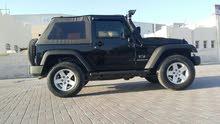 Black Jeep Wrangler 2010 for sale