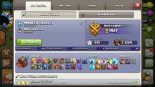 clash of clan and clash royal for sale