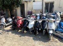 scooter yamaha and other brand