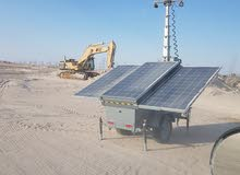 Solar Tower Lights for rent