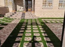 يوجد لدينا العشب الصناعي للحدائق المنزليه والاستراحات.