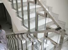 All kinds of Aluminium Glass upvc & stainless steel installation works