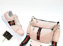 جملة احذية مع الحقيبة