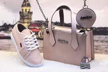 حقائب و حافظة نقود و حذاء