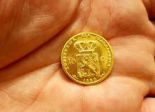 عملة قديمة ذهبية