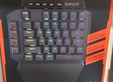 كيبورد ريد دراغون ميكانيكالReddragon mechanical keyboard blue switch