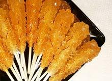 زعفران سوبر نقين إيراني اصلي ٪وزعفران اسباني ويوجد سكر نبات دفع كاش و كي نت