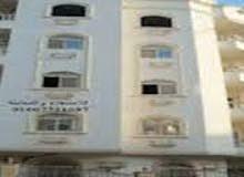 شقة بالمنصورة ارضى امام القرية الالومبية سكن عائلى