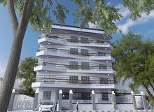 شقة 250م فورى بعمارة جديدة بها اسانسير وانتركم بجوار نادي جرين هلز