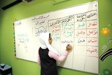 مدرس خصوصي لتعليم الغة العربية من الالف الى الياء