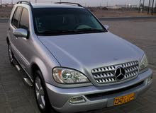 Gasoline Fuel/Power   Mercedes Benz ML 2004