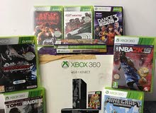 Xbox 360 with Kinect and FREE 10 GAMES