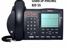 للبيع تلفونات مستعملة ماركة أفايا  Nortel IP Telephony  تعمل على الأنترنت