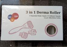ديرما رولر 1×3 لمحاربة التجاعيد و تنظيف البشرة