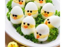 بيض محلي قياس لارج