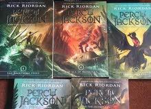 سلسلة كتب Percy jackson للبيع
