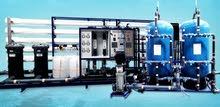 Sales & services for RO plants بيع وصيانة محطات معالجة المياة