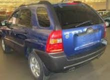 Blue Kia Sportage 2006 for sale