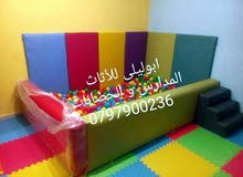 غرف طابات و زوايا حماية و وتفصيل اثاث الحضانات و مدارس