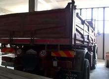 شاحنة نوع افيكو 190/26 قلابة 3 جهات وكمبيو فلر درجة اولي جايه من إيطالية