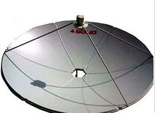 Airtel brand new dish with fixing and free home delivery