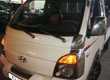 هنداي بورتر لون أبيض موديل 2012 فحص كامل ترخيص لشهر 6كوشوك جديد 6 غيار جنط 13