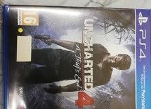 uncharted 4 للبيع أو التبديل
