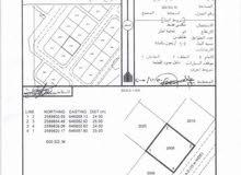 ارض رخيصة في العامرات مدينة النهضة قريبة المنازل والمحلات تجارية