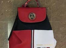 Tommy Hilfiger bags - blue white red backpack lag