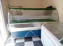 ثلاجة عرض و فريز عرض للبيع