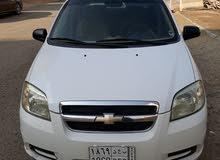 Chevrolet Aveo car for sale 2011 in Jeddah city