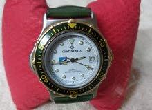 ساعة كونتيننتال كوارتز بنتيجة سويسرى الصنع