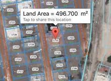 أرض بوشر السادسة حلوة 500 متر