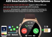 Oukitel Smart Watch A29 2G Sim calling, Bluetooth 4.0,Heart Rate Monitor