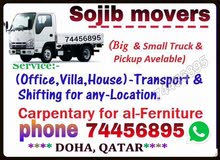 Moving & shifting services