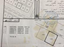 ارض في السويحرية (حي السلام) مساحتها 750