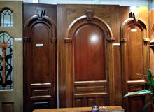 باب خشب صاج تعباة أوروبي يحتوي على جودة عالية