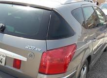 بيجو 407/ 2005 بحالة جيدة للبيع