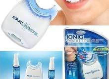 مكنة لتبييض الأسنان
