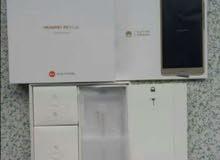 Huawei p9 plus 4g gold 64g مع جميع اغراضه الاصليه