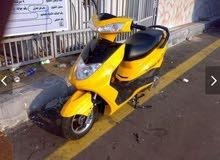 دراجه نارية بطه صفراء للبيع حاله جدا رهيب