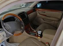 لكزسز موديل 2005 الون ذهبي 430 نص الترا ماشيه 3000الف وارد أمريكا ملكية