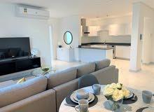 للإيجار شقة غرفتين جديدة كلياً ابتداء من 400 دينار في منطقة السيف
